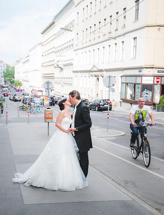Hochzeit in der Stadt