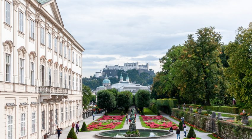 Hochzeit in einem Schloss in Salzburg