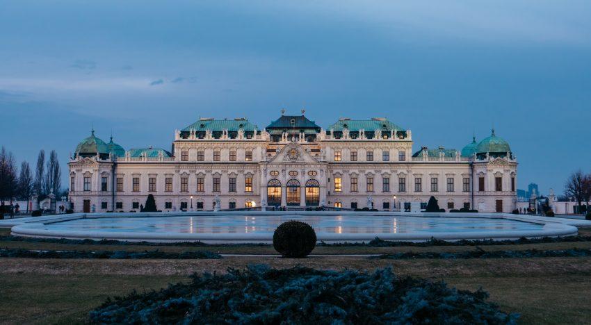 Hochzeit in einem Schloss in Wien
