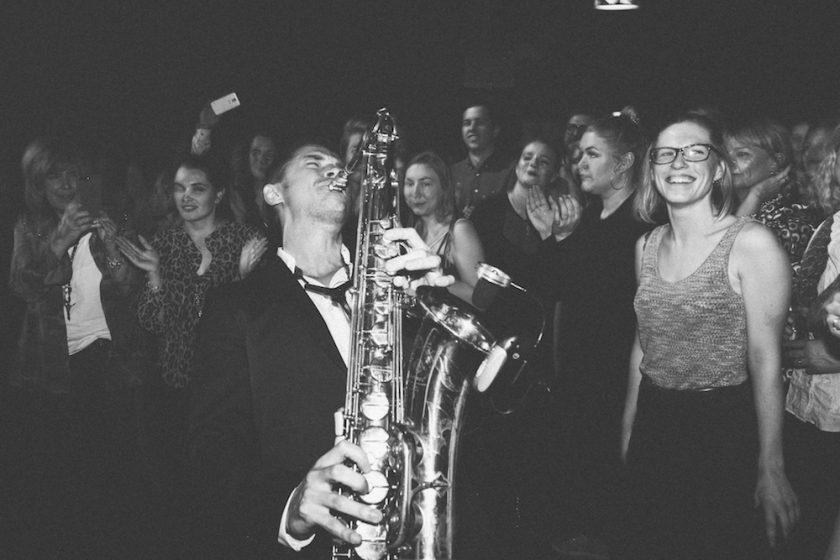 Saxophonist Kamil Publikum