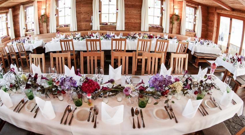 Durchschnittliche Kosten für Hochzeitslocations in Tirol