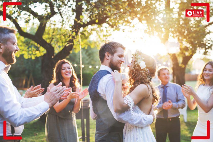 Livestream-Hochzeit