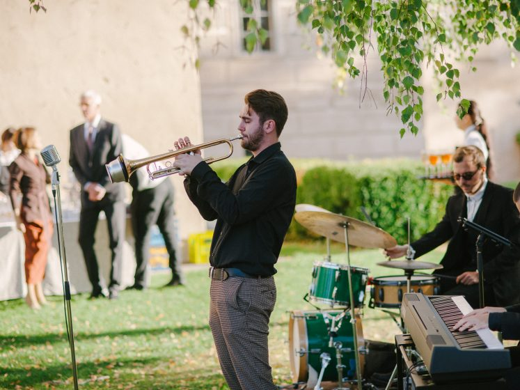 Hochzeitsband aus der Steiermark All Jazz Ambassadors Schloss Walpersdorf2