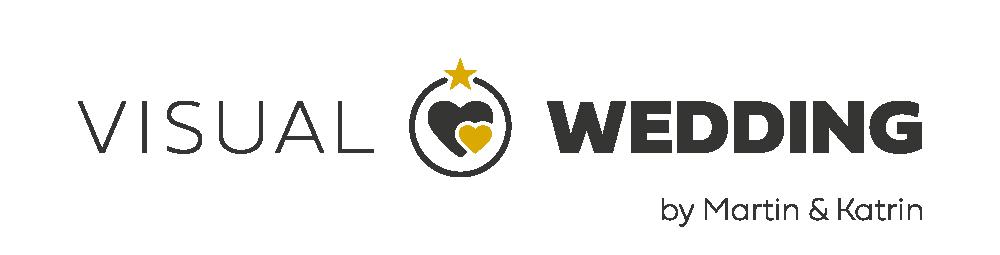 Logo Visual Wedding 02 Logo Namenszusatz
