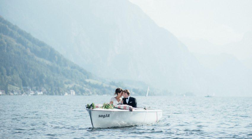 Hochzeitsfotos am Traunsee