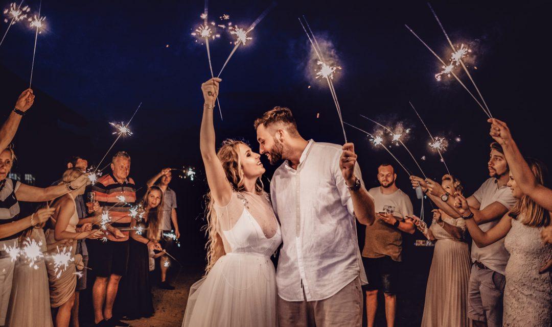 Hochzeit in der Stadt im Burgenland