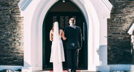Hochzeit in der Stadt in Niederösterreich