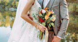 Hochzeit in der Stadt in Salzburg