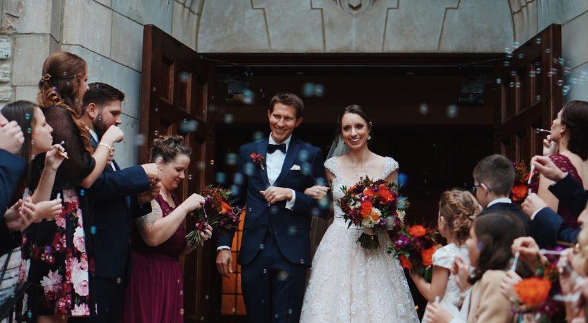 Hochzeit in der Stadt in Wien