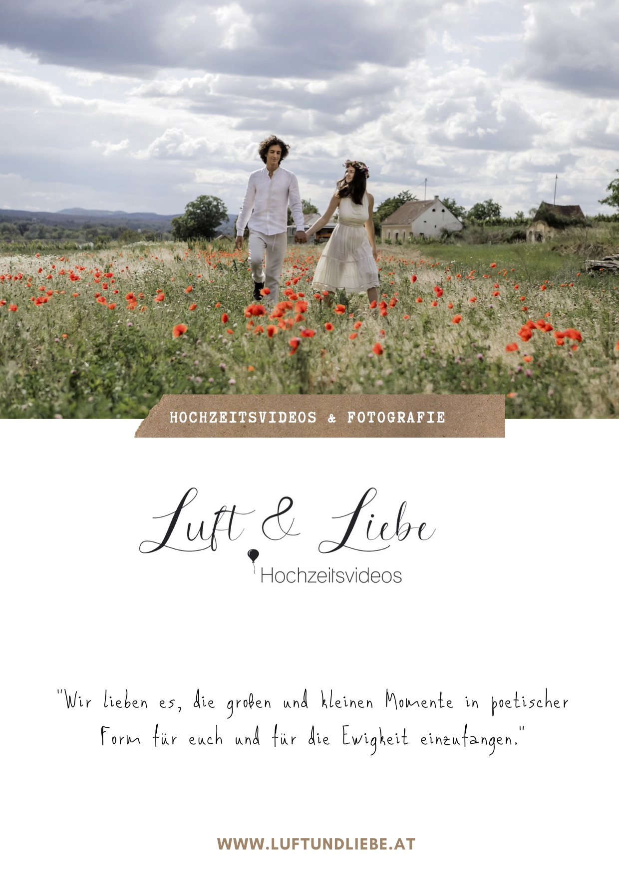 Postkarte Luft & Liebe