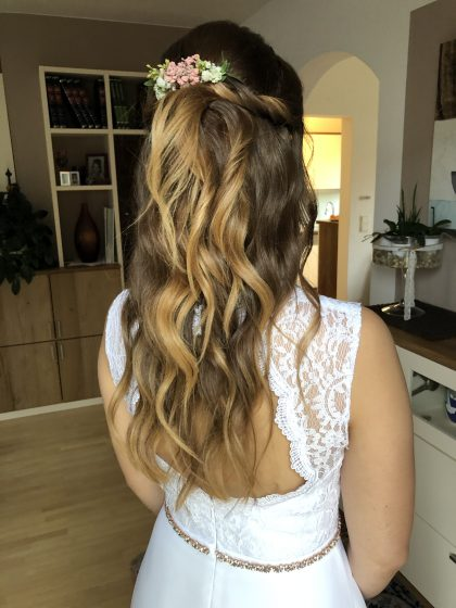 Braut Sandra_