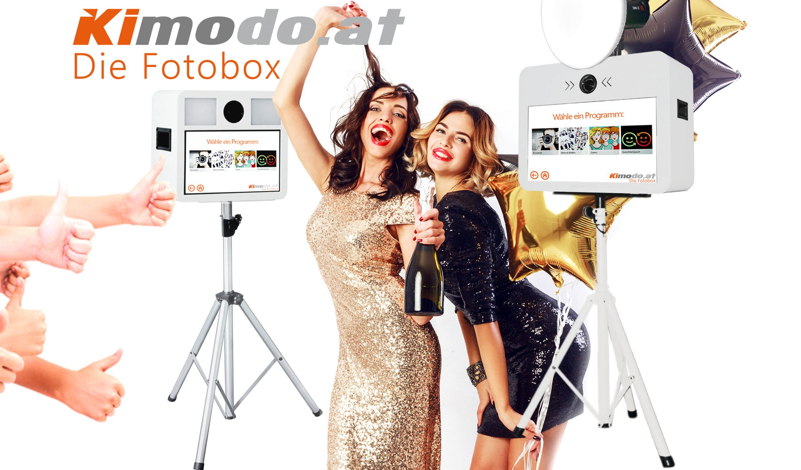 Kimodo – Fotobox – mit dem besonderen SPASS Faktor…
