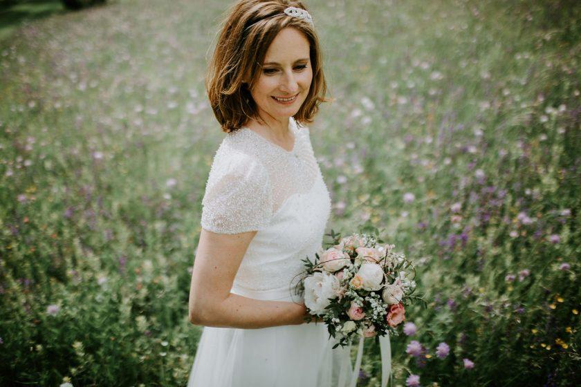 Natürliches Braut Styling