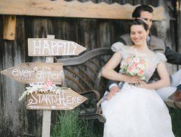 Welcome-Schild und weitere Hochzeitsdeko selbst bauen