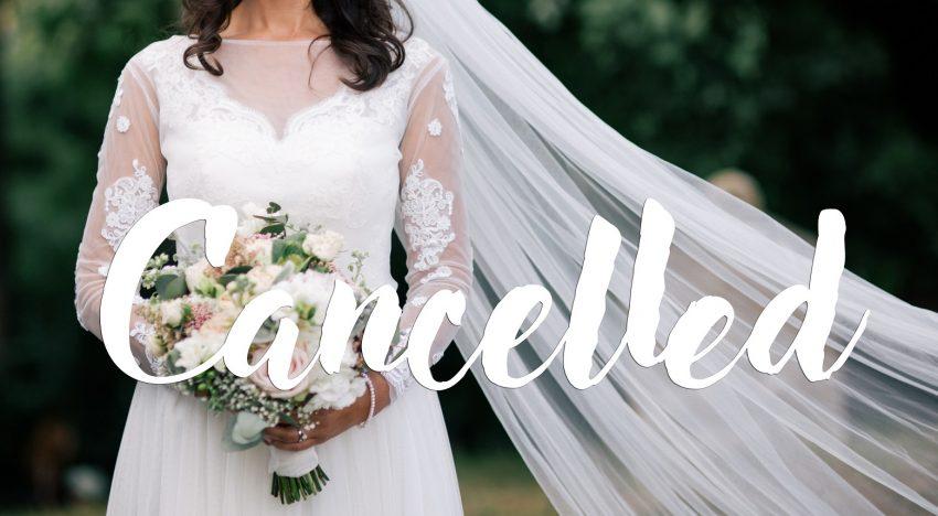 Hochzeit verschieben oder stornieren – das müsst ihr wissen